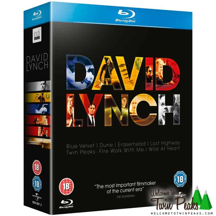 David Lynch Collection Box Set Blu-ray