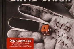 David Lynch - Crazy Clown Time (front cover)