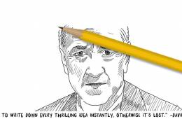 #DavidLynchDoodle - David Lynch Doodle