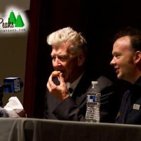 David Lynch Donuts Now Exist And Here's David Lynch Eating One