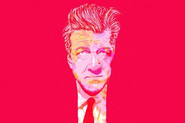 David Lynch by Elinedesigns