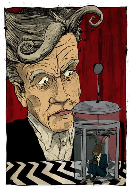 David Lynch Signature Cup Coffee (Rabbit Blend)