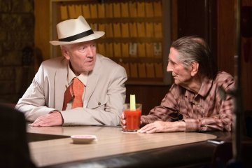 David Lynch & Harry Dean Stanton in Lucky