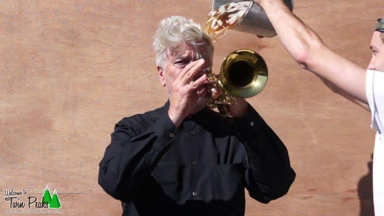 David Lynch #ALSIceBucketChallenge