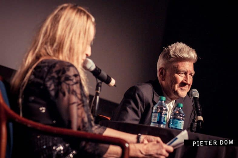 David Lynch in conversation with Kristine McKenna at the Prince Music Theater