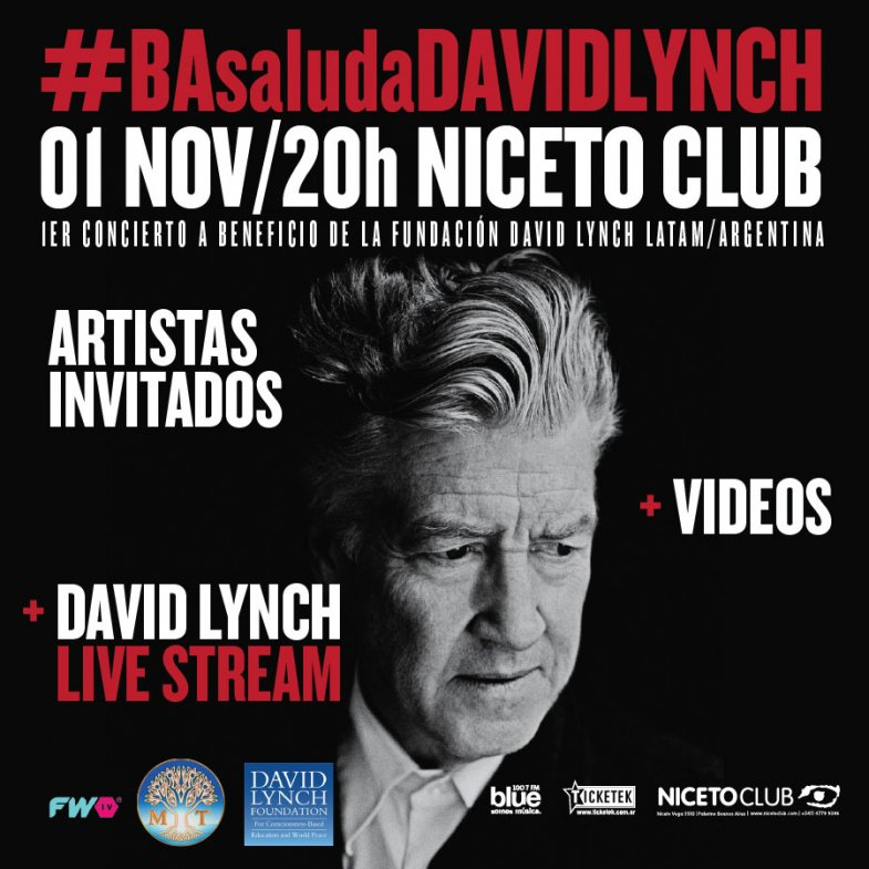 David Lynch in Buenos Aires, Argentina