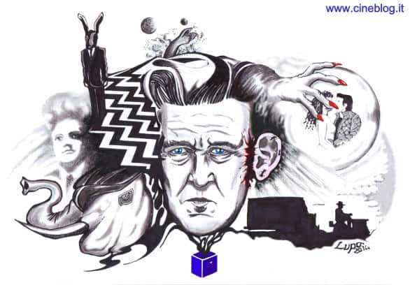 David Lynch by Andrea Lupo