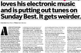 David Lynch Mixmag Interview
