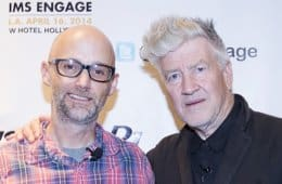 David Lynch and Moby