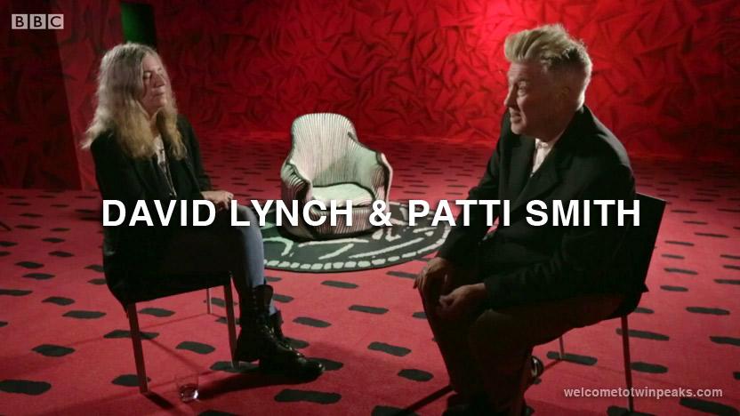 David Lynch & Patti Smith on BBC newsnight