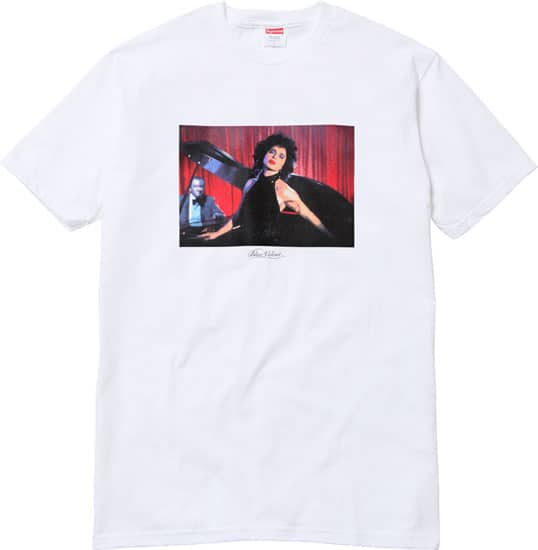 David Lynch / Supreme: Blue Velvet t-shirt