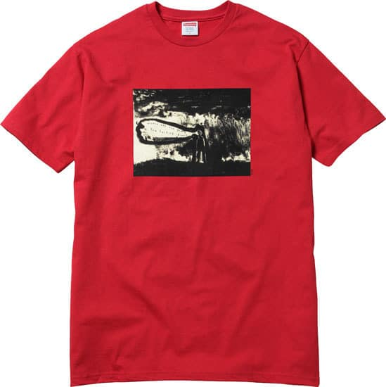 David Lynch / Supreme: Litograph t-shirt