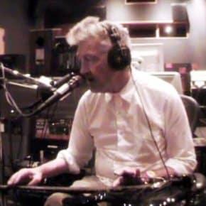 David Lynch in Asymmetrical Studios working on The Big Dream