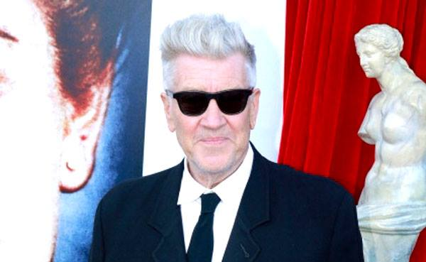 David Lynch at the Twin Peaks Blu-ray launch party (photo by Ivars Ozols)