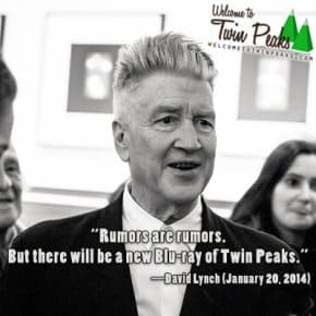 EXCLUSIVE: David Lynch Announces Twin Peaks Blu-ray With Never Seen Before Content, Dismisses Return To Twin Peaks Rumors Once And For All (Video)