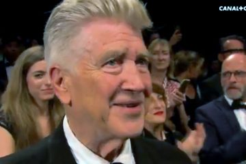 Standing ovation for David Lynch in Cannes