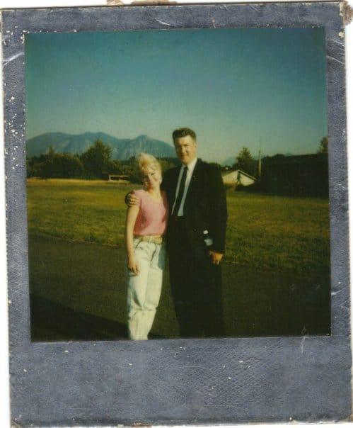 David Lynch and Yvonne Roberts