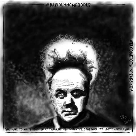 #davidlynchdoodle by Frank R. Barrera