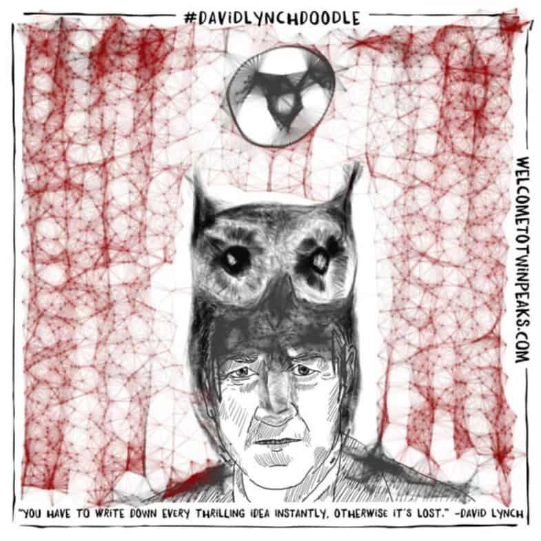 #davidlynchdoodle by Gabor Csigas