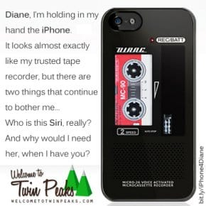 Diane, Dale Cooper's Tape Recorder iPhone Twin Peaks Samsung Case