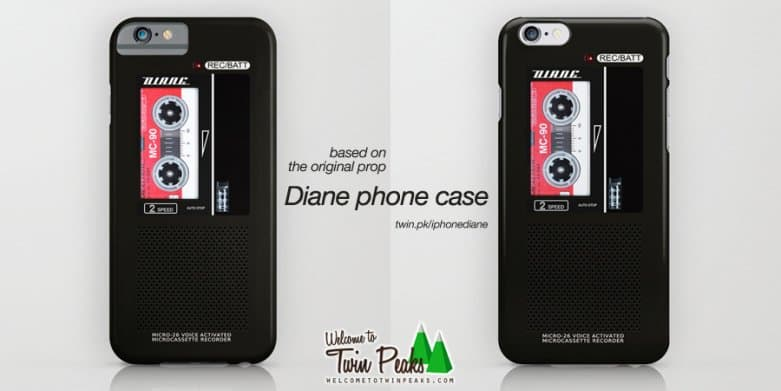 Diane iPhone cases on Society6 and RedBubble