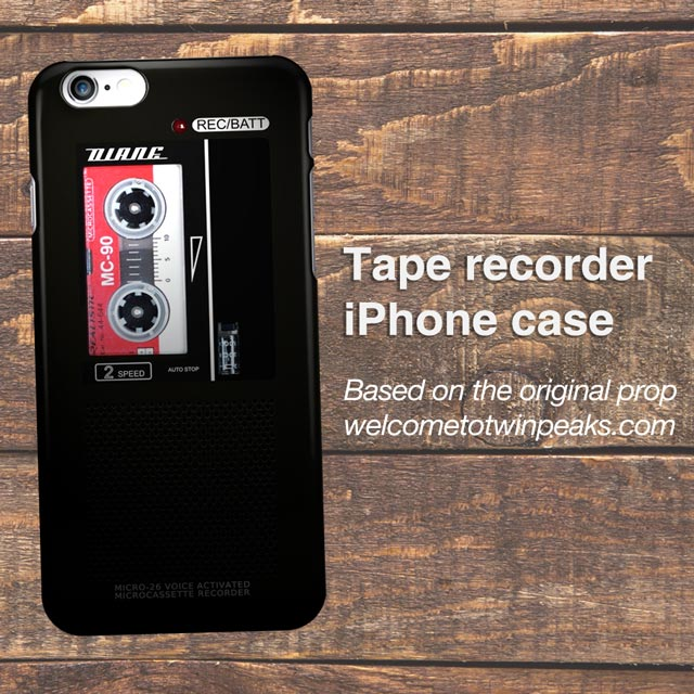 Diane - Dale Cooper's Tape Recorder iPhone / Samsung Case