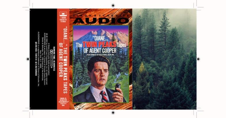 Diane... Twin Peaks Tapes cassette inlay PDF