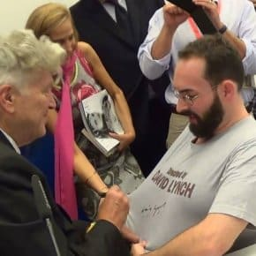 """Directed By David Lynch"" T-Shirt Now Also Signed By David Lynch (Video)"