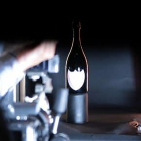 David Lynch Directs Dom Pérignon Commercial (Behind The Scenes Video)