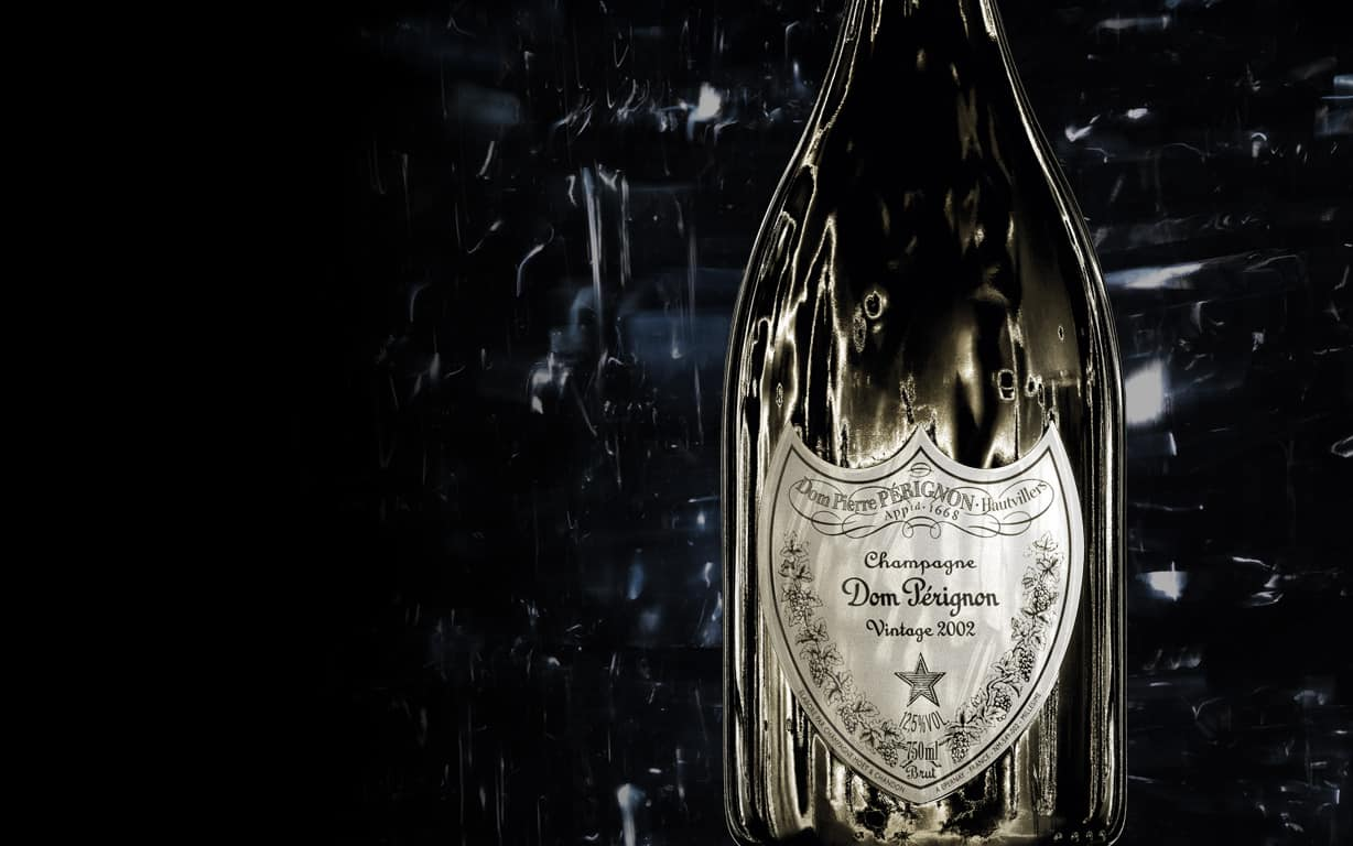 Dom Pérignon Blanc by David Lynch