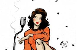 Donna Hayward pin-up