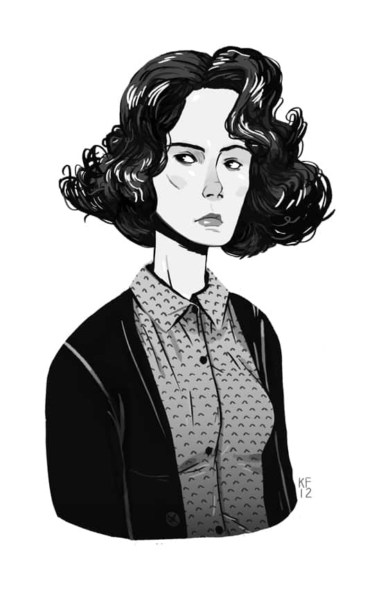 Donna Hayward by Kyle Fewell