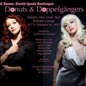 The Pink Room Burlesque: Donuts & Doppelgängers