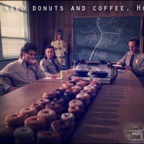 Twin Peaks Donut Shop Was Called Wagon-Wheel Do-Nuts
