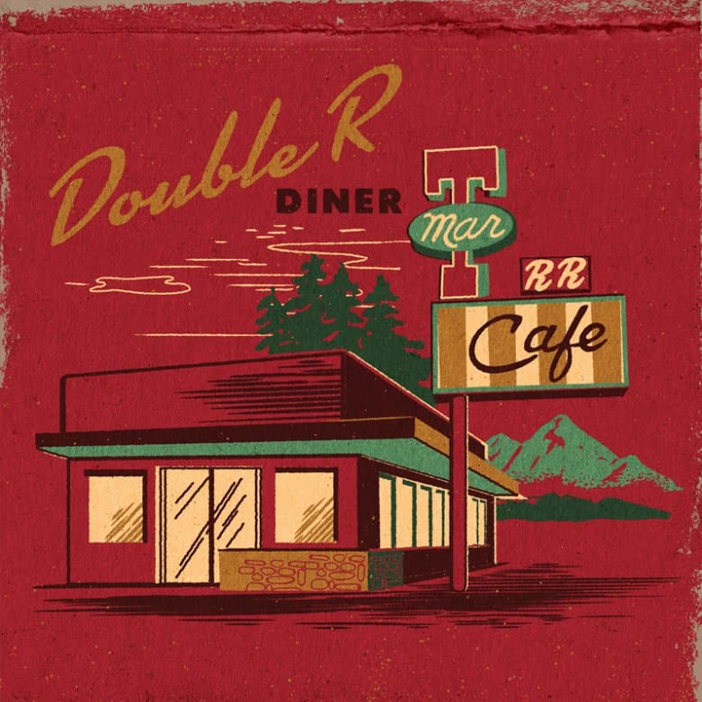 Double R Diner matchbook