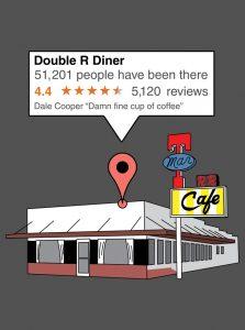 Double R Diner, Twin Peaks, WA