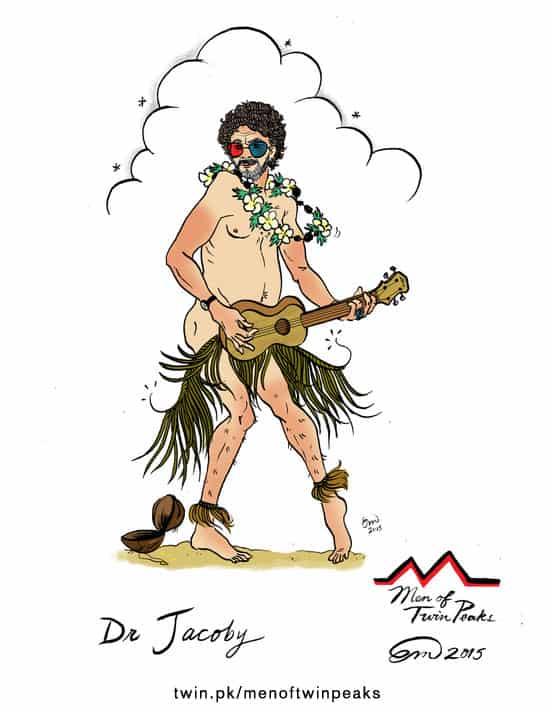 Dr. Jacoby pin-up