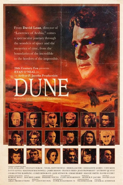 Dune starring Ryan O'Neal