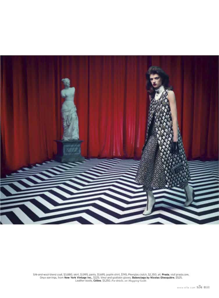 Elle magazine Twin Peaks photo shoot (4)