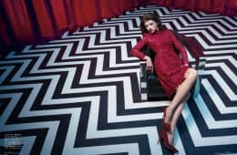 Elle magazine Twin Peaks photo shoot (5)