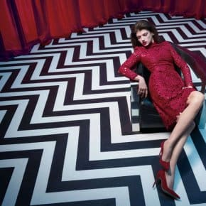 Elle Magazine Shoots Inside The Black Lodge