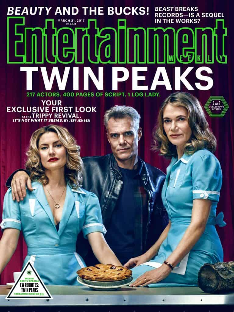 Entertainment Weekly's Twin Peaks cover: Shelly, Bobby & Norma