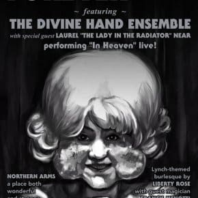"EXCLUSIVE: Eraserhead's The Lady In The Radiator To Perform ""In Heaven"" Live At PhilaMOCA's Eraserhood Forever 2015"
