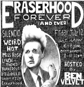 Eraserhood Forever (And Ever), PhilaMOCA's David Lynch Celebration Returns