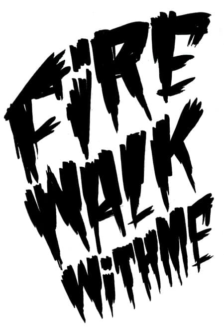 Fire Walk With Me by Jen Mussari