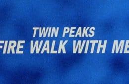Twin Peaks: Fire Walk With Me (title screen)
