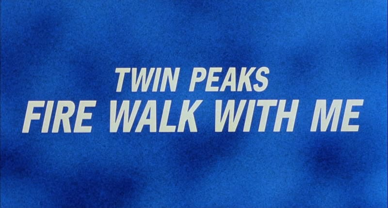 Twin Peaks: Fire Walk With Me (title screen)