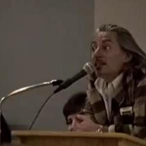 Frank Silva Chants Death Bag Rhyme At Twin Peaks Fest 1993 (Video)
