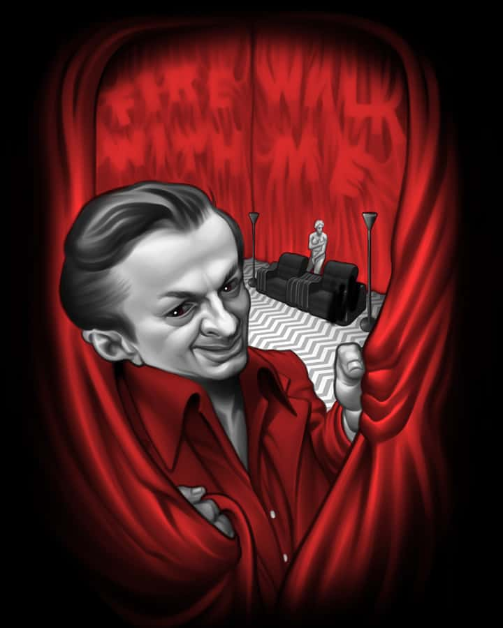 Fright Rags Just Added Three Twin Peaks T-Shirts And Here's