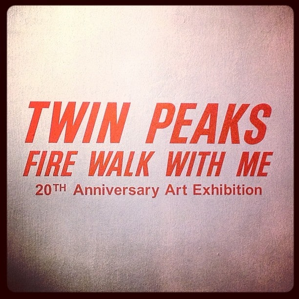 Twin Peaks: Fire Walk With Me 20th Anniversary Art Exhibition